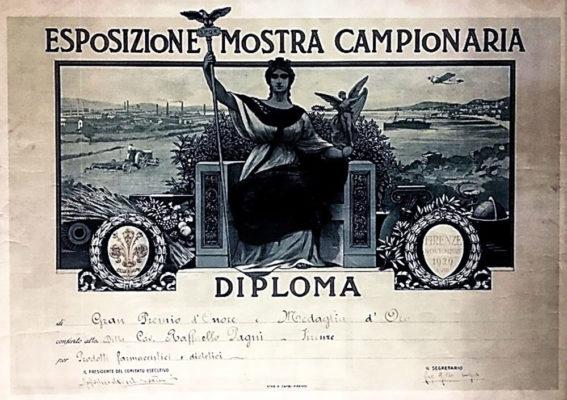 Pagni Fiera campionaria di Milano 1929