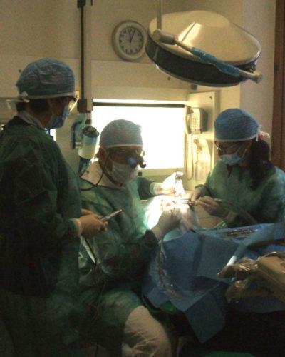 Saletta chirurgica.
